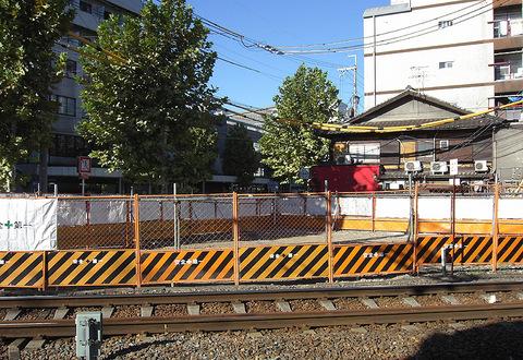 京福西院ビル解体後の更地20150914