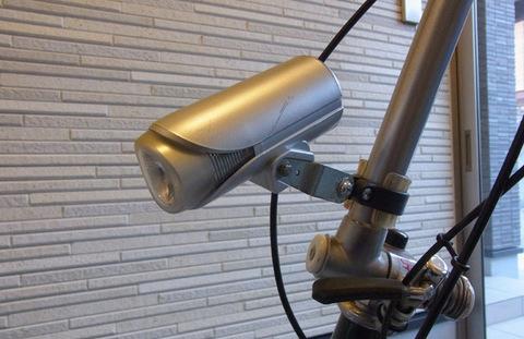 L.L.Beanハンドルポストに取り付けたパナソニックのかしこいランプ(型番NL-831P-S)